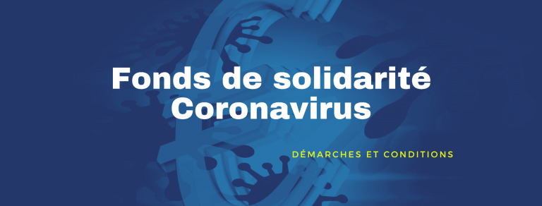 fonds solidarite coronavirus AE 768x292 - Fonds de solidarité Coronavirus