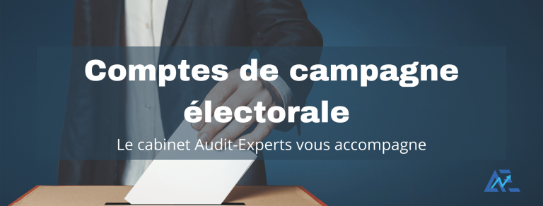 compte de campagne electorale 768x292 - Présentation et certification des comptes de campagnes électorales